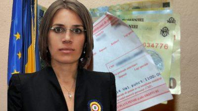 Ce pensie colosală încasează Irina Alexe, secretarul de stat în Ministerul de Interne
