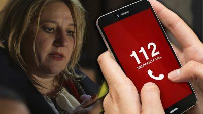 Diana Șoșoacă a sunat la 112. Ce s-a întâmplat chiar azi în Parlament