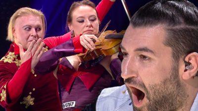 """Duo Viola, moment unic la Românii au talent. Jurații, dați pe spate: """"N-am mai văzut în viaţa mea aşa ceva"""" VIDEO"""