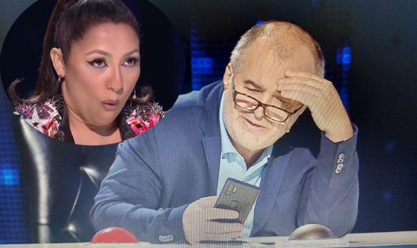 """Florin Călinescu, derapaj la Românii au Talent: """"Cine p**a mea e cântăreața asta?"""" Ce replică i-a dat Andra, imediat"""