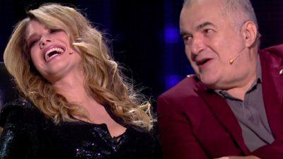 """Florin Călinescu i-a bătut un apropo indecent Alexandrei Dinu la Românii au Talent. Blonda, șocată: """"Aolo, la ghenă?"""""""