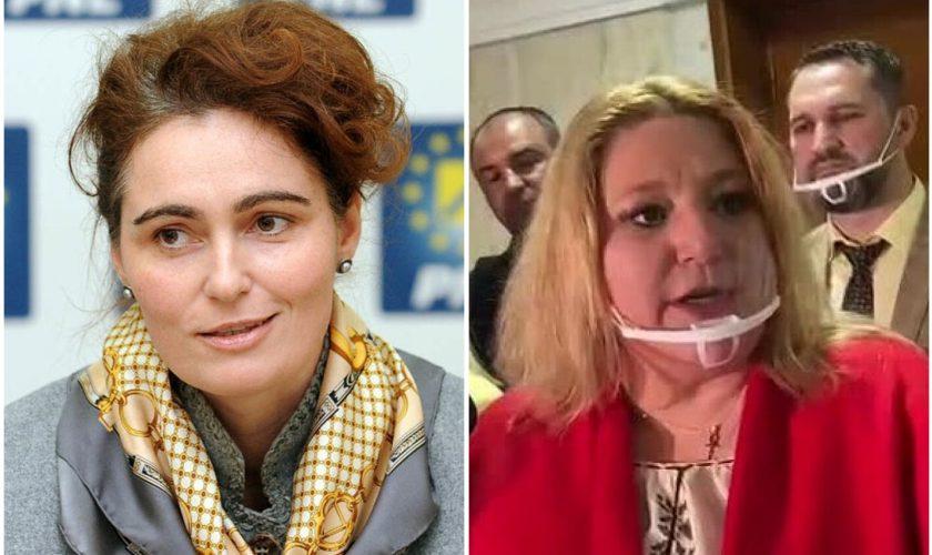 Iuliana Scântei vrea să o reducă pe Diana Șoșoacă la tăcere. Ce i-a pregătit preşedintele Comisiei Juridice a Senatului