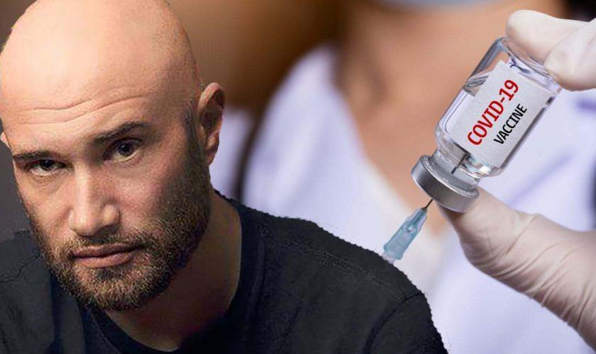 Mihai Bendeac s-a vaccinat astăzi. Alegerea surpriză a vedetei: 'Mă orientez după câștigătorii de Nobel'