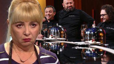 """Nuami Dinescu, apariție inedită la Chefi la Cuțite. I-a lăsat mască pe chefi cu """"cititul în salată"""""""
