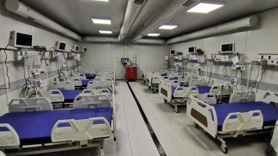 Raed Arafat și Florin Cîțu, în mijlocul scandalului legat de spitalul mobil de la Lețcani, care ia amploare