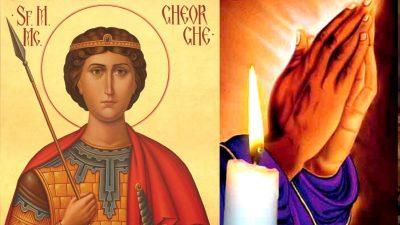 Rugăciune puternică de Sf. Gheorghe. Ea te va ajuta să treci de orice greutate ai acum