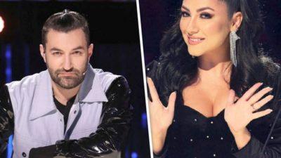 Smiley și Andra, în picioare la Românii au talent: 'Mamă, au sărit cântăreții'