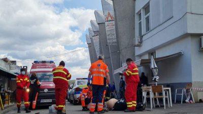 Scene de groază în Pitești. Un bărbat în vârstă de 63 de ani, mort după intervenția haotică a polițiștilor