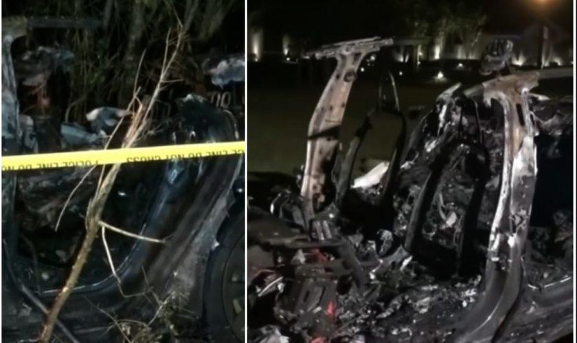 Tesla a făcut primele victime. Cum au murit 2 bărbați într-o mașină pe care nu o conducea nimeni VIDEO