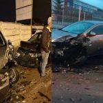 Scene șocante în Brașov. Un șofer beat, drogat și fără permis a distrus 16 mașini aflate într-o parcare. Cum au reacționat locatarii