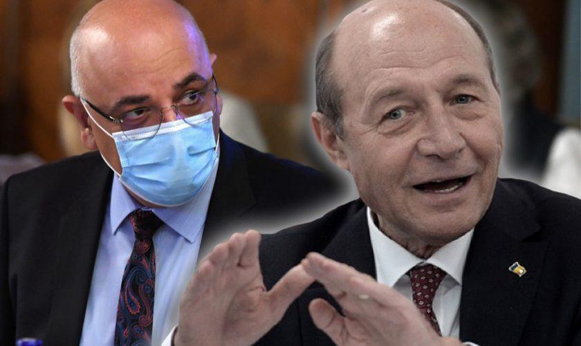 """Traian Băsescu, sfidare maximă la adresa lui Raed Arafat: """"E un miracol omul ăsta. El doar se răsteşte şi dă ordine"""""""