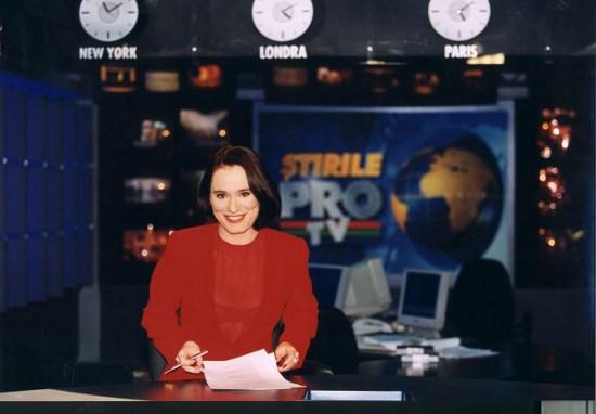 Andreea Esca, Pro Tv, Andreea Esca coafura