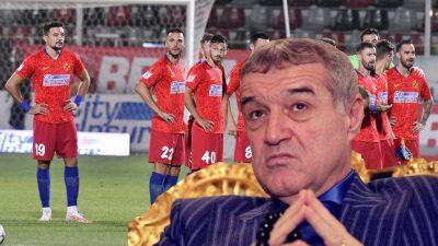 Ce i-a făcut Gigi Becali unui jucător de la FCSB. E o premieră istorică pentru club