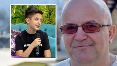 Ce s-a întâmplat cu fiul lui Axinte la întoarcerea din America. Artistul a fost șocat și el