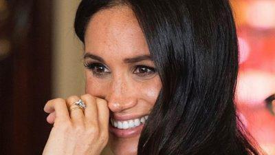 Cum arată burtica de gravidă a lui Meghan Markle. Soția Prințului Harry a etalat-o cu mândrie VIDEO