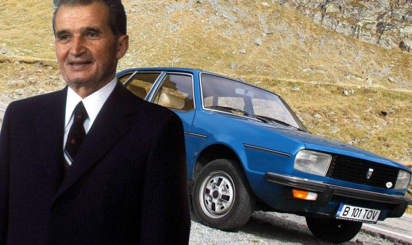 Dacia de lux a lui Nicolae Ceaușescu. Ce dotări premium avea la vremea respectivă, pe lângă cei 150 CP