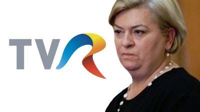 Doina Gradea a fost demisă de la TVR. Parlamentul a dat voturile decisive
