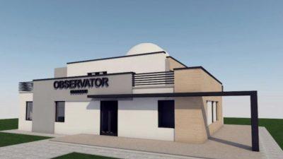 Proiect superb într-un mic oraș din România. Cum vor arăta planetariu şi observatorul astronomic, obiective realizate cu bani europeni