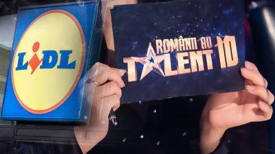 LIDL România, anunț de ultimă oră pentru toți fanii emisiunii Românii au Talent. Cine ia 300 de lei
