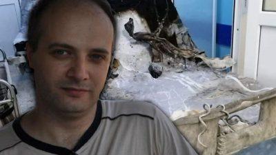 Vești bune pentru Cătălin Denciu, medicul-erou de la Piatra Neamț, ars în urmă cu 6 luni în spital