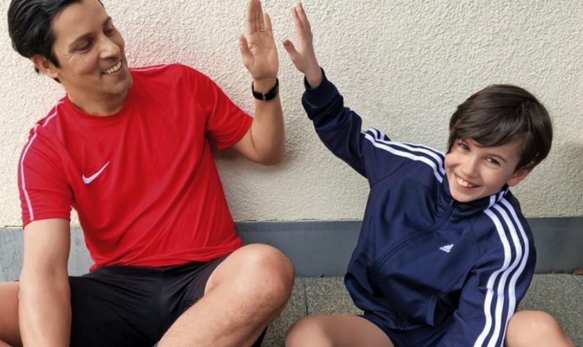Ce bine o duce fiul lui Lucian Viziru în Germania. Ce performanțe senzaționale are la doar 10 ani