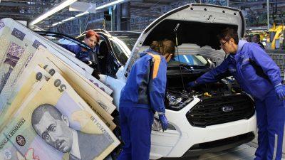 Câți bani câștigă un angajat de la Ford România. Salariile sunt mai mici decât credeai