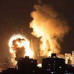 Atac cu sute de rachete în Tel Aviv după ce Israel a distrul o clădire cu 12 etaje din Fâșia Gaza. Vezi imaginile dezastrului