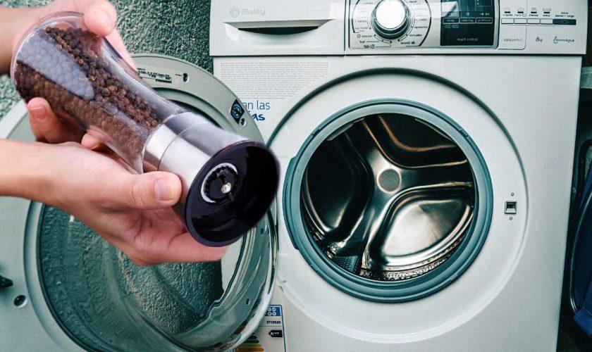 A pus piper negru în mașina de spălat și nu i-a venit să creadă ce s-a întâmplat cu hainele