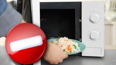 Alimentele care nu se încălzesc niciodată la microunde. Nu mai face această greșeală majoră