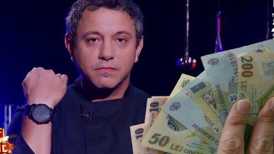 Câți bani primește Sorin Bontea la Chefi la cuțite. Este mult mai bine plătit decât Scărlătescu și Dumitrescu