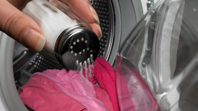 Ce se întâmplă dacă pui sare în timp ce speli hainele. Cel mai tare truc pentru toți românii