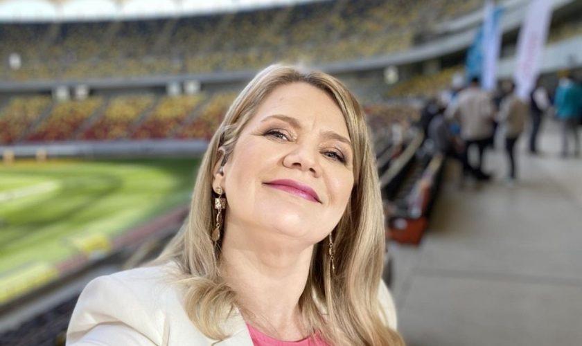 Cum a ajuns Ioana Cosma comentator la Euro 2020. A spus adevărul cu gura ei