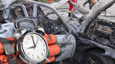 Cum a fost amplasată bomba înainte de moartea afaceristului din Arad. Informații de ultimă oră