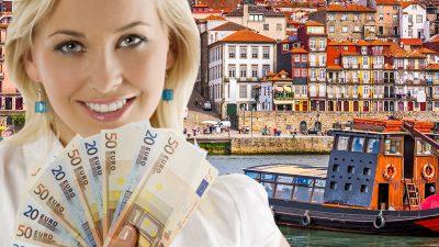 O româncă a ajuns cea mai bogată femeie din Portugalia. Spăla vase la noi în țară