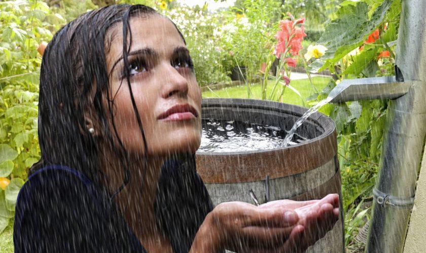 S-a spălat pe păr și piele cu apă de ploaie. Ce s-a întâmplat cu podoaba capilară e uluitor