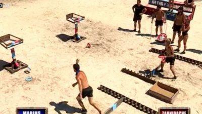 Situație șocantă la Survivor. Un concurent s-a prăbușit la pământ după proba de imunitate