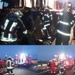 Ultima oră! Accident mortal pe A1 între un TIR și un microbuz, soldat cu 17 victime. A fost activat Planul Roșu de Intervenție