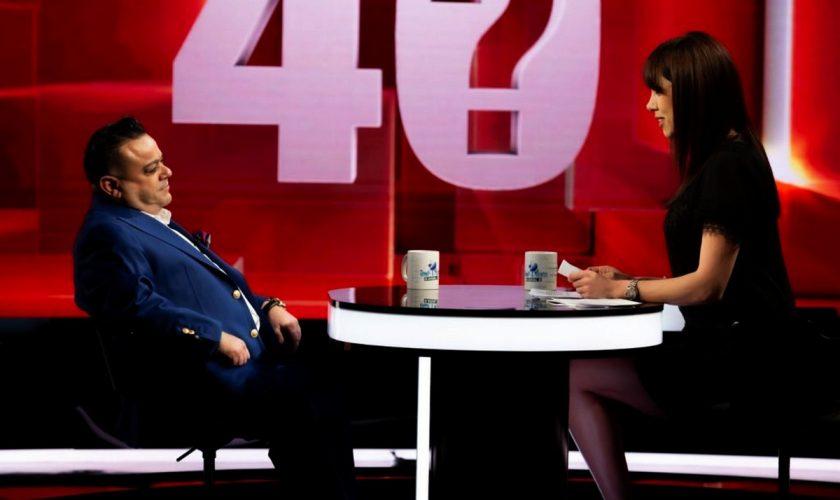 Adrian Minune a făcut-o să plângă pe Denise Rifai. Ce i-a spus manelistul la Kanal D