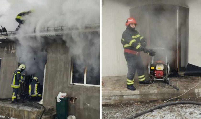 Bebeluș de șase luni, intoxicat cu fum de la o oală uitată pe foc. De ce nu au putut ieși din casă membrii familiei