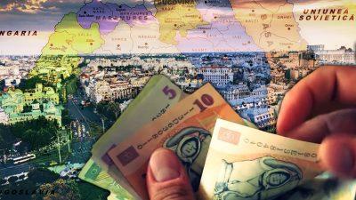 Care sunt diferențele între salariile din București în comparație cu restul provinciei