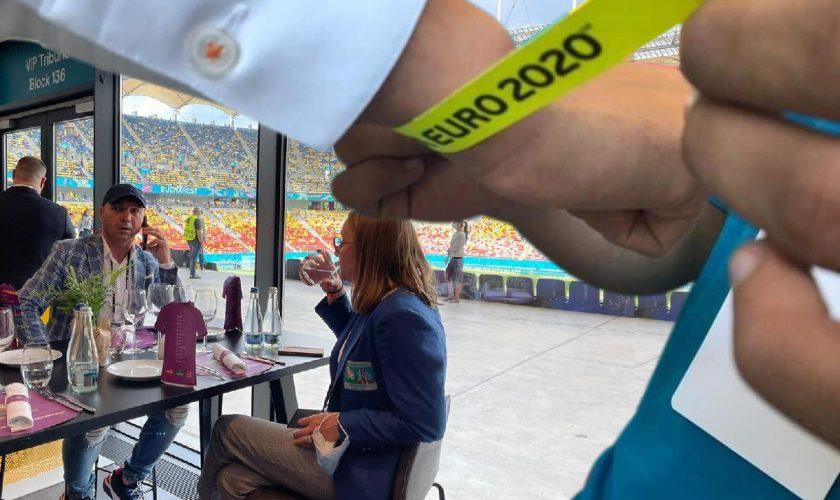 Ce delicatese primesc VIP-urile pe Arena Națională. Euro 2020 e un lux total