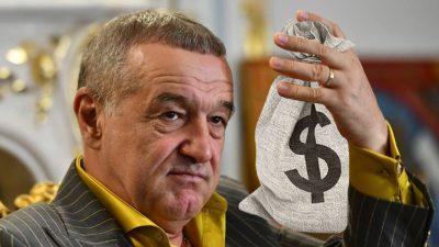 Gigi Becali a mers cu o pungă plină cu bani să parieze pe FCSB. Ce s-a întâmplat apoi: 'Pune-i pe toți