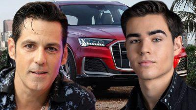 Ce mașină de fițe are fiul lui Ștefan Bănică jr. Radu este un băiat răsfățat