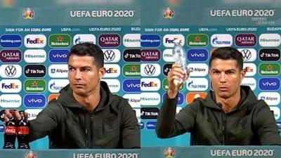 UEFA, decizie radicală după gestul lui Cristiano Ronaldo. Ce ordin a dat