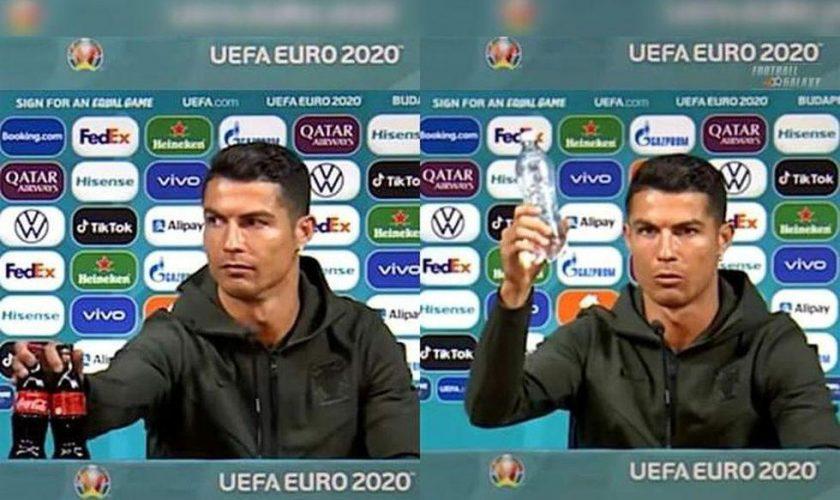 Cristiano Ronaldo a dat o gaură în veniturile Coca Cola. Sportivul i-a umilit grav VIDEO