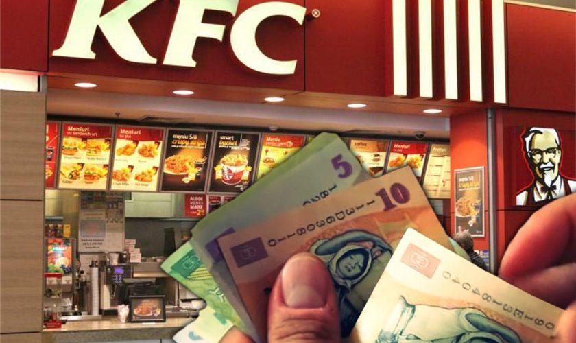 Ce salarii primesc angajații de la KFC România. Cine câștigă cei mai mulți bani