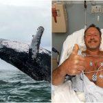 Un scafandru, înghițit de o balenă: 'Am zis că mor'. Ireal cum s-a salvat
