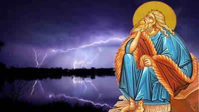 Cum a ajuns să fie asociat Sfântul Ilie cu tunetele și fulgerele. Ce face acesta în Rai, de fapt, când noi auzim că tună pe pământ