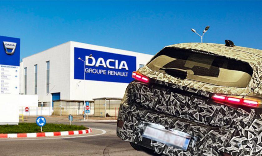 Noul model Dacia surprins din greșeală în Pitești. Ce mașină se află, de fapt, sub camuflaj