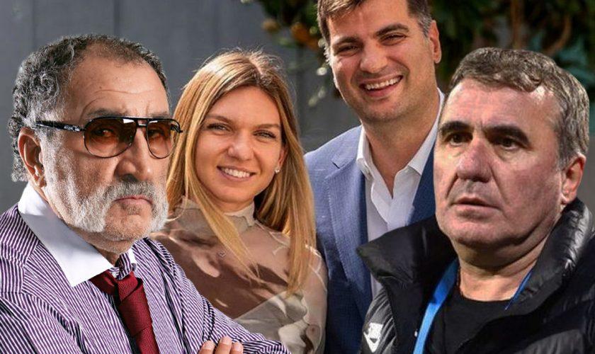 De ce au lipsit, de fapt, Hagi şi Ion Ţiriac de la nunta Simonei Halep. Secretul din spatele absenţei
